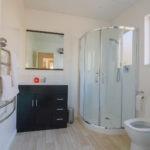 Modern and spotless bathroom facilities