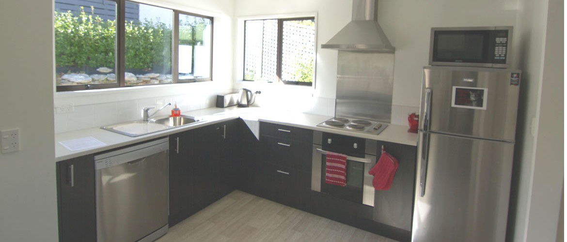 Wanaka holiday accommodation georges Kitchen